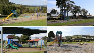 gum tree, four parks, Kelso Road, Low Road, Anderson Road, Lions Park, Reserve St, Yallourn North