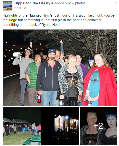 Traralgon Ghost Tour