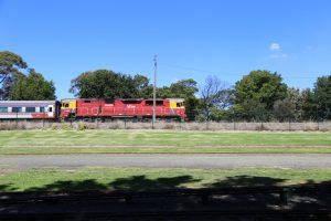 train spotting, vline, diesel, Traralgon,