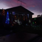Aussie Christmas, Christmas lights, Sunset, Gippsland wedding cars,