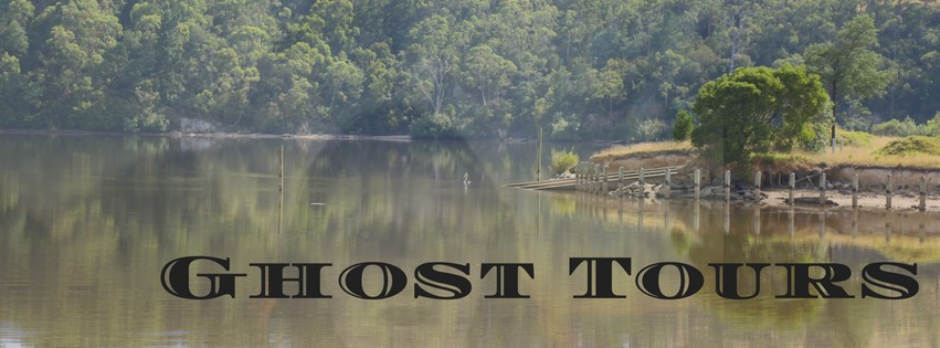 fake ghost photo, superimposed, Lake Narracan,