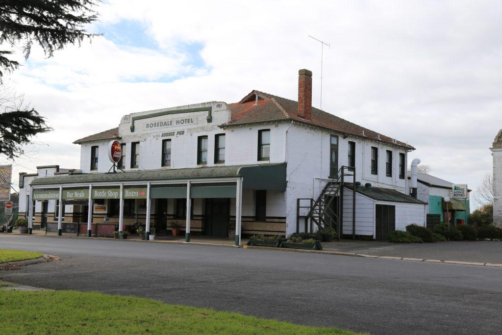 Rosedale Hotel 1858