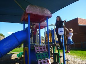playground, kids, haunted hills tours, tour guide,